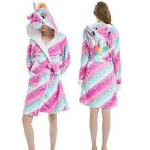 Кигуруми женский плащ пижамы szlafrok халаты подружки невесты забавная Пижама милый банный халат невесты