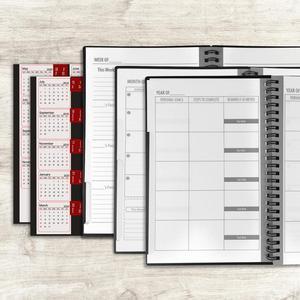 Image 5 - A5 크기 지울 수있는 노트북 재사용 가능한 스마트 노트북 클라우드 스토리지 플래시 스토리지 재사용 가능한 플래너 주간 월간 연간 및 일 날짜