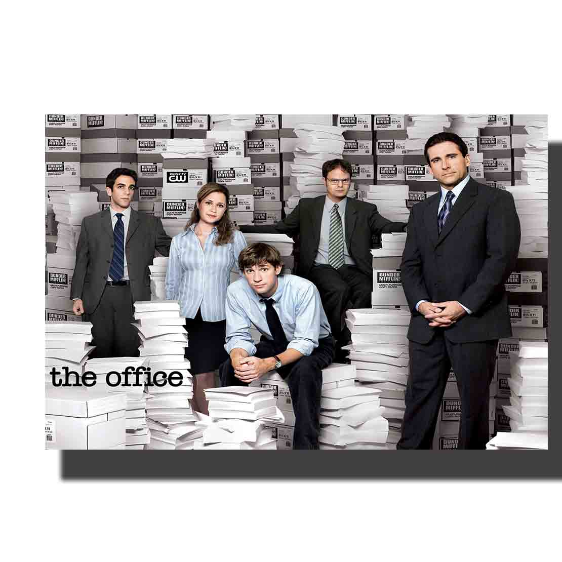 L101 the office 2005 TV Art Poster Decoration Silk 12x18 24x36in Gift Living Room Picture Decor Canvas image