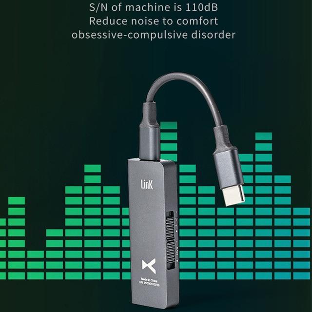 xDuoo Link2 HIFI Portable Decoding Headphone AMP  5