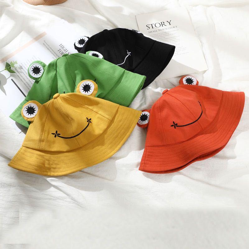 Sommer-Baumwoll-Eimer-Sonnenhut f/ür Erwachsene Frauen breiter Rand Frosch-Angler Frosch-Hut,M/ädchen Eimer Sonnenhut Fischer M/ütze VVIA Damen Netter gr/üner Frosch-Eimer-Hut