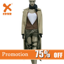 Xcoser Cleanrance Alice Costume Suit Cosplay Halloween Cosplay Costume For Women(China)