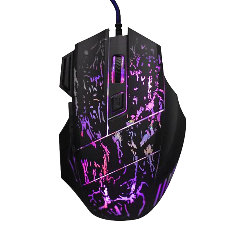 Gaming Mouse Mechanical Mouse 7 Button Wired Game Mouse Gamer K1012B Computer Mouse For Laptop Pc