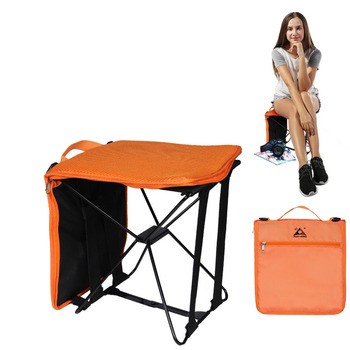 Portable Foldable Camping Chair Bag Folding Hiking Outdoor Bag for Trekking Picnic Beach Seat Fishing Tools Chair