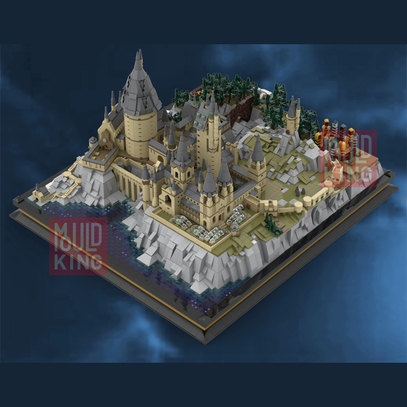 MOVIE HARRY POTTER MOULDKING 22004 Hogwarts School of Witchcraft and Wizardry