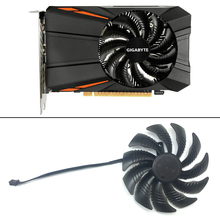 T129215SU PLD09210S12HH 3PIN Fan Cooling Replace For Gigabyte Geforce GTX 1050 Ti AMD RX550 RX 560 Mini ITX G1