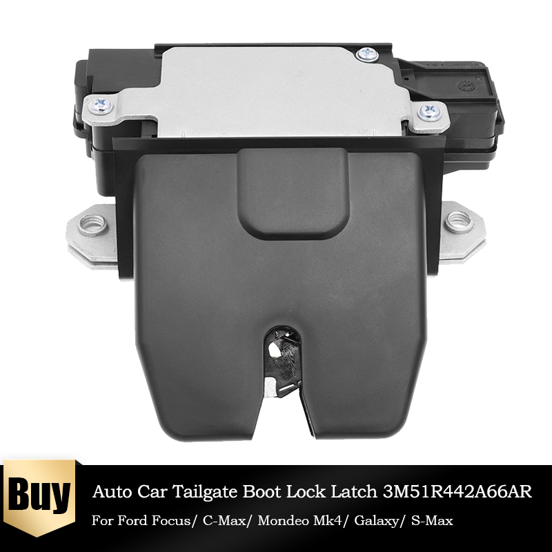 3M51R442A66AR 5 Pins Auto Car Tailgate Boot Lock Latch Central Locking Mechanism For Ford/Focus/Mondeo/MK4/C-Max 3M51-R442A66-AR