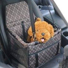 Folding-Bag Seat Car-Dog-Carrier-Basket Cat-Transportin-Cover Travel Outdoor Waterproof