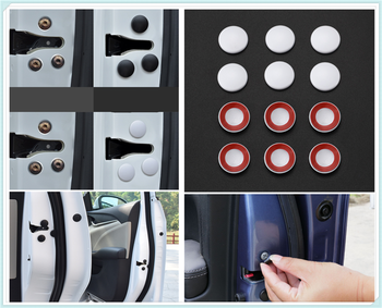 12PCS auto parts universal door side screw protection cover rust for BMW 335is Scooter Gran 760Li 320d 135i E36 F30 F30 image