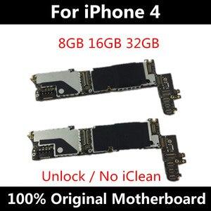 Image 3 - اللوحة ل فون 4S اللوحة الأصلية مصنع فتح آيفون 4S رقائق المنطق مجلس مع OS نظام كامل 8GB /16GB /32GB