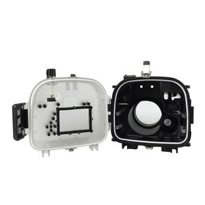 Image 5 - الغوص كاميرا القضية لكانون EOS 550D/600D للماء 40M المياه الرياضة السباحة الانجراف تصفح كاميرا واقية حالة حقيبة 1 قطعة