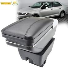 Car Armrest Arm Rest Rotatable For Skoda Rapid 2013 - 2018 Center Centre Console Storage Box