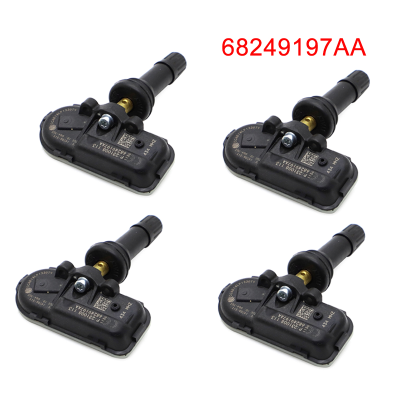 For 2014 - 2019 Ram 1500 2500 3500 TPMS Tire Pressure Sensor 68249197AA For Dodge Ram Jeep Cherokee Tire Sensor Monitor  434MHZ