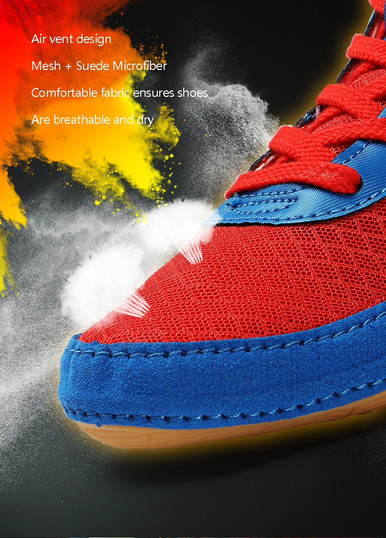 Sapatos de luta das crianças sapatos de