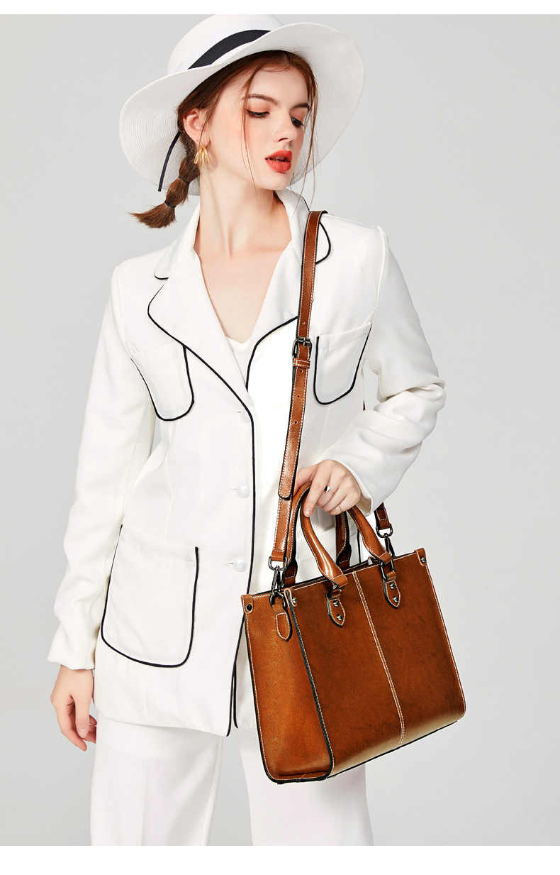 Kadın hakiki deri çanta büyük deri tasarımcı büyük Tote çanta kadınlar için lüks omuzdan askili çanta ünlü marka çanta C1187