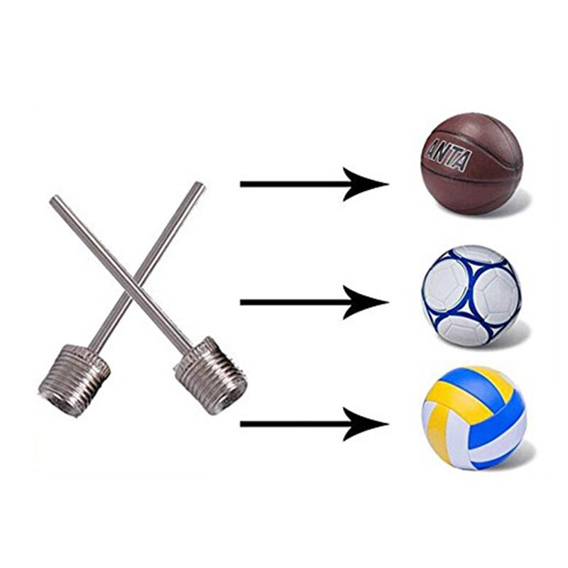 Portable Sports Inflating Needle Pin Nozzle Football Basketball Soccer Ball Air Pump Inflation Point Needle