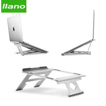Silver Aluminum Laptop Stand Tablet Stand Universal for Apple MacBook Air Pro 11-15 inches Folding Adjustable Office Notebook - DISCOUNT ITEM  8% OFF All Category