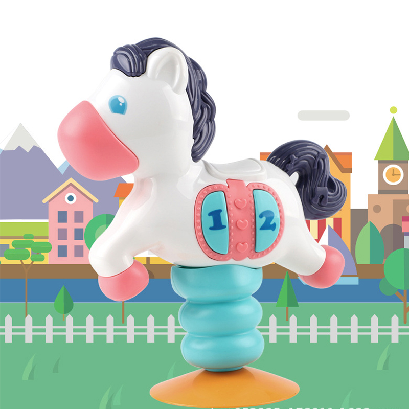 Baby Music Comfort Toy Baby Early Education Puzzle Pony Plane Gift Toy Child Parent-child Unusual Gifts  13-24 Months