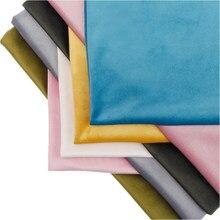 厚さ: 0.7ミリメートルベルベット生地固体ソファ枕布手作りベルベットぬいぐるみ生地ゴールドvelvetn縫製によるアニメ生地ヤード