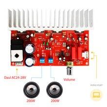 200W * 2 TDA7294 ระบบเสียงดิจิตอล HiFi 2.0 สเตอริโอสูงเสียงเครื่องขยายเสียง Dual AC 24V  28V