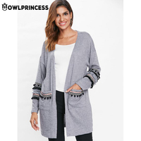 Madam clothing OWLPRINCESS New Casual Cotton Large Size Winter Woman Coat Long Coat Loose Comfortable Coat Warm Coat Female