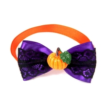 Pet Halloween Small Dog Puppy Cats Neckties Collar Neck Bow Ties Festival Party Costume Assorted