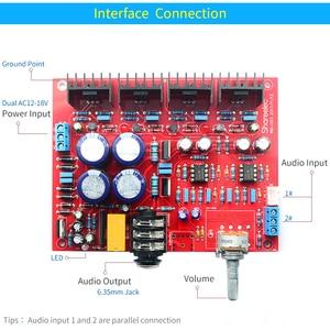 Image 5 - UNISIAN  E3 Headphone Amplifier Board  base on Beyerdynamic A1 earphone amplifiers  ALPS Potentiometer For Headphone
