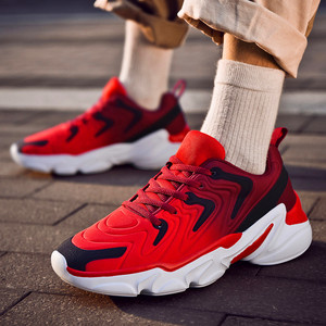 Image 3 - Zapatos deportivos De talla grande para Hombre, zapatillas De deporte masculinas informales, transpirables, con aumento De altura, 46