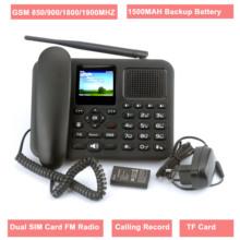 GSM stały telefon bezprzewodowy z kolorowy LCD podwójna karta SIM wywołanie nagrywanie Radio FM MP3 wielojęzyczny IMEI edytowalny tanie tanio Adusun CN (pochodzenie) 850 900 1800 1900mhz ZT-9000 2 4 inch colorful Support support 2 1500mah English French Portuguese Russian Spanish Arabic Myanmar