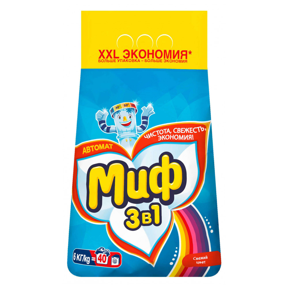 Home & Garden Household Merchandises Cleaning Chemicals Laundry Detergent Миф 836659
