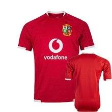 2021 british & irish lions rugby casa camisa esportiva masculina S-5XL
