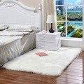 Белый пушистый коврик для спальни  детские длинные пушистые коврики  нескользящий ковер из лохматой области  ковер для столовой  декоративн...