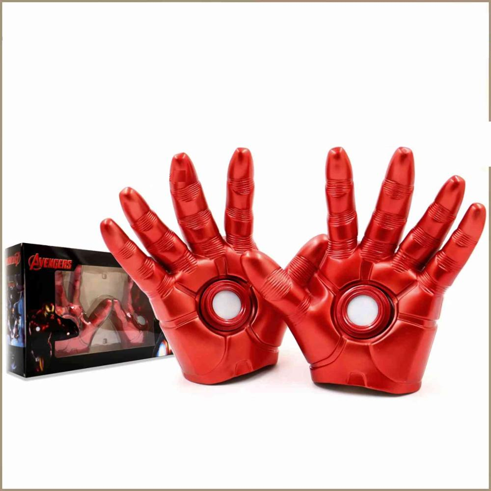 Cosplay Gloves Iron Man Costume Gloves Plush Adult Gloves Great Gift