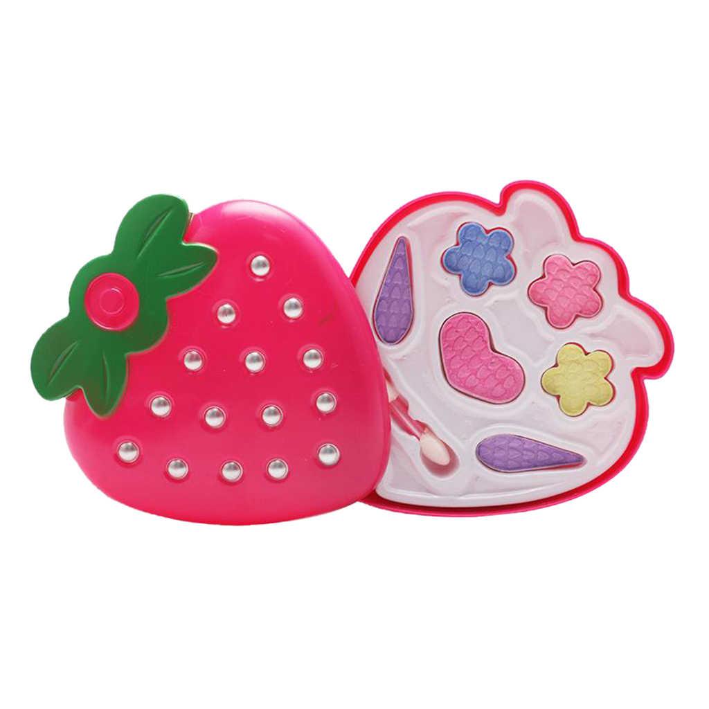 Nowe zabawki do makijażu dziewczynki udawaj zagraj w bezpieczne dla dzieci dziewczyny zestaw do makeupu zabawki kosmetyki zestawy zabawek najlepsze prezenty dla dzieci