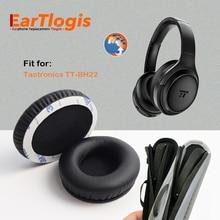 EarTlogis החלפת EarPads פגוש עבור Taotronics TT BH22 אוזניות חלקי Earmuff כיסוי כרית כוסות כרית סרט ראש קרן