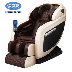 Pequeño espacio de lujo de cuerpo completo multifuncional Dispositivo de ancianos eléctrico barato tapa grande envoltura de pie Deluxe cero-Gravy silla de masaje