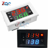DC 12V Dual LED Display Time Relay Relay Module Timing Mini LED Digital Timer Relay Timing Delay Cycle Time Control Switch Home