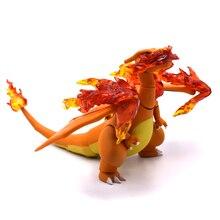 13cm Charizard Cartoon Movie & TV Model z pcv rysunek w figurki zabawki kolekcjonerskie świąteczne prezenty dla przyjaciół darmowa wysyłka