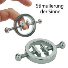Movconly Fetish Nipple Clamps Adjustable Stainless Steel Stimulation Erotic SM Sex Toy for Women