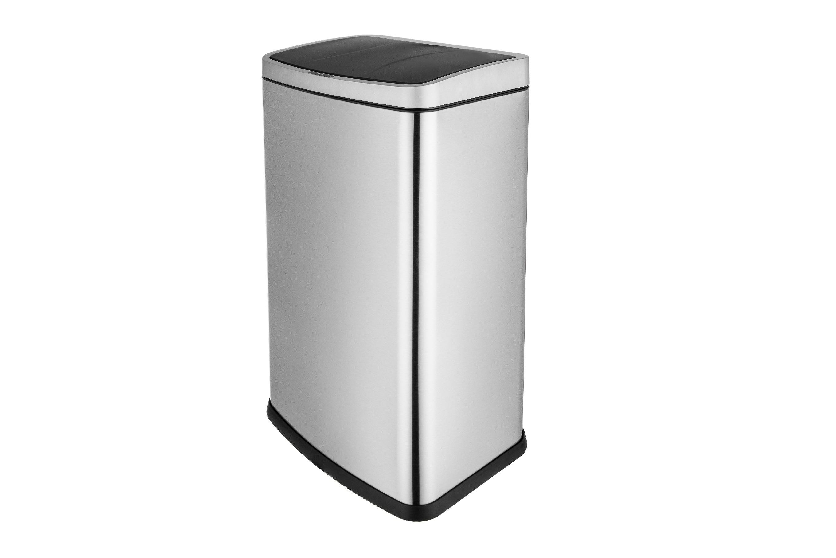 Smart Sensor Trash Can Touchness Household Dustbin Stainless Steel With Anti Finger Print Waste Bins Wide Open Kitchen Trash Bin|Waste Bins| |  - title=