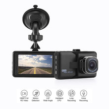 120 Degrees Driving Recorder Car DVR Dash Camera Full HD 1080P Cycle Recording Night Vision Wide Angle Dash Cam Video Registrar(China)