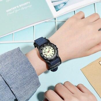 Spinning bezel kid quartz watches