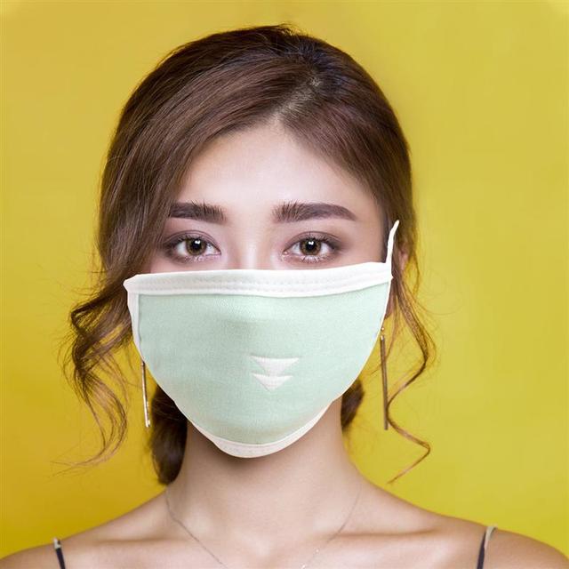 3pcs Antidust Cotton Mouth Masks For Newborn Babies Against Dust, Pollen, Allergens And Flu Germs Cotton Face Mask(Random) 2