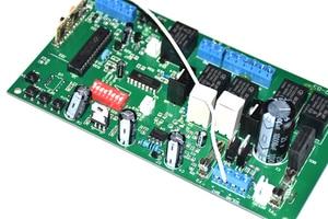 Image 5 - 12V Elektronische karte motherboard platine für Dual flügel automatische schaukel tor öffner motor 12VDC