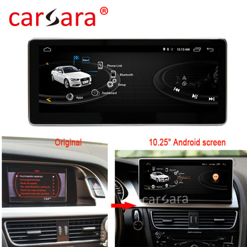 4+64G Android Headunit Stereo Electronic System for Audi A4 A5 2009-2016 with Audi concert/symphony radio GPS Navigation image