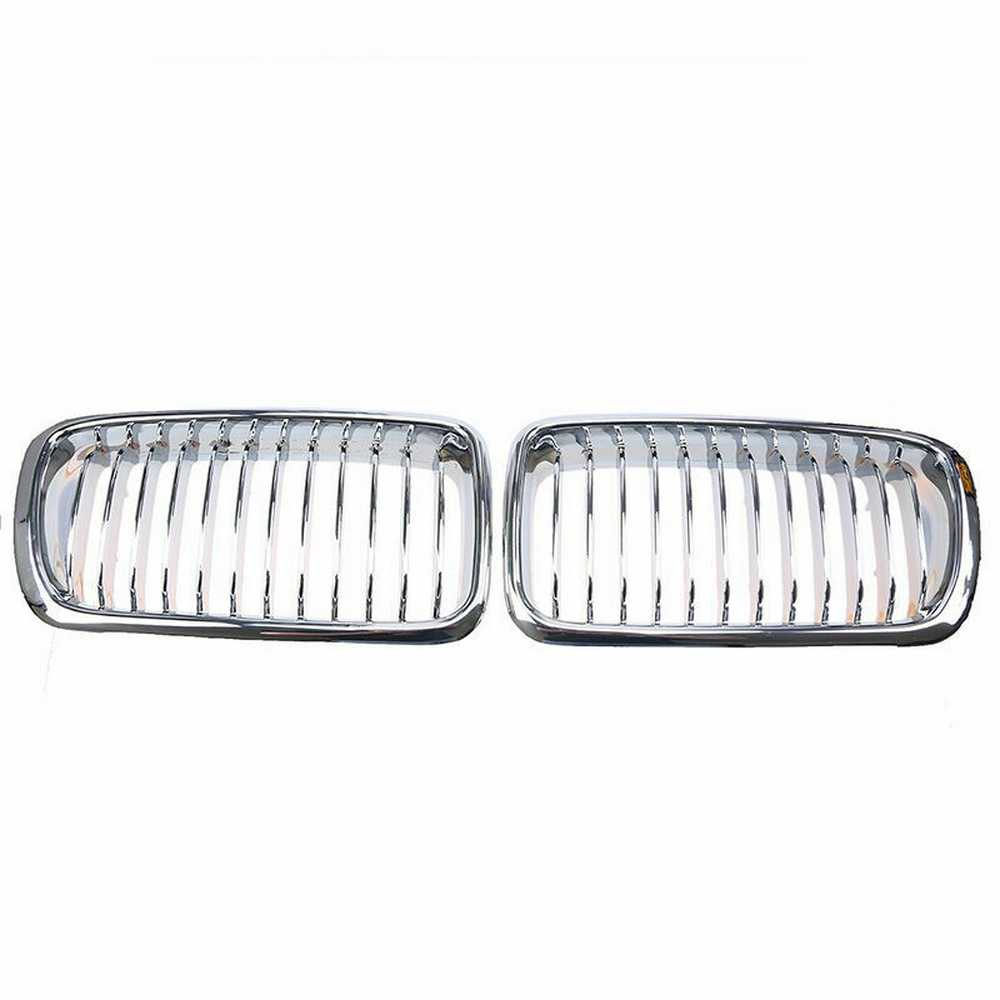 ABS Front Bumper Hood Kidney Grille Grill For BMW 7-Series E38 Sedan 1994-2001 51138125811 51138231593 51138125812 51138231594
