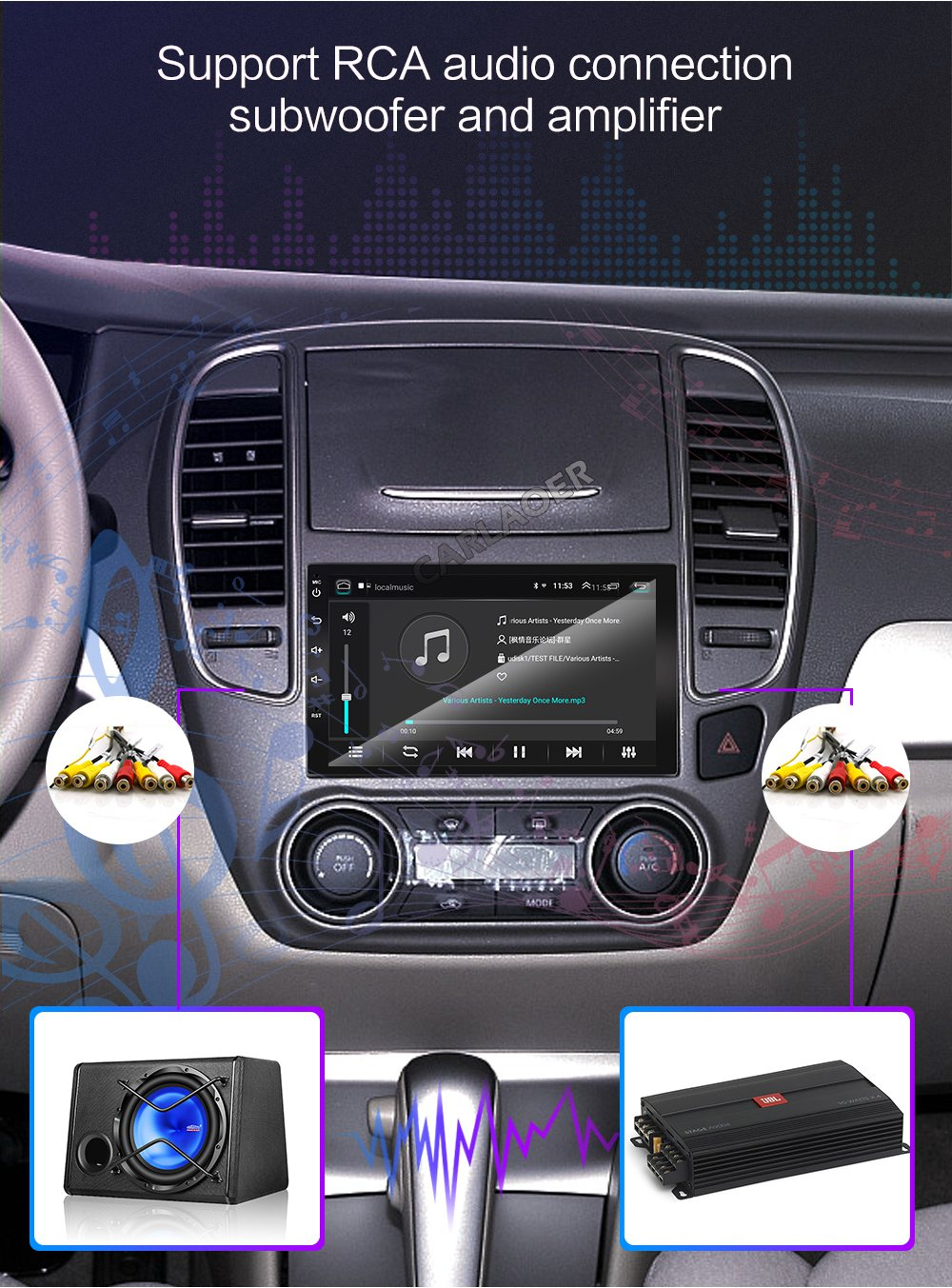 2din car android radio player- (8)