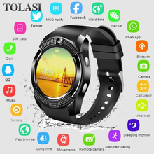 Get more info on the Smart Watch Men Bluetooth Sport Watches Women Smartwatch Support Sim TF Card Phone Call Push Message Camera For Android Phone
