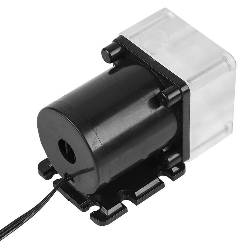 12V 0.8A 10W G1/4 Thread Low Noise Water Pump for CPU PC Computer Cooling System 2