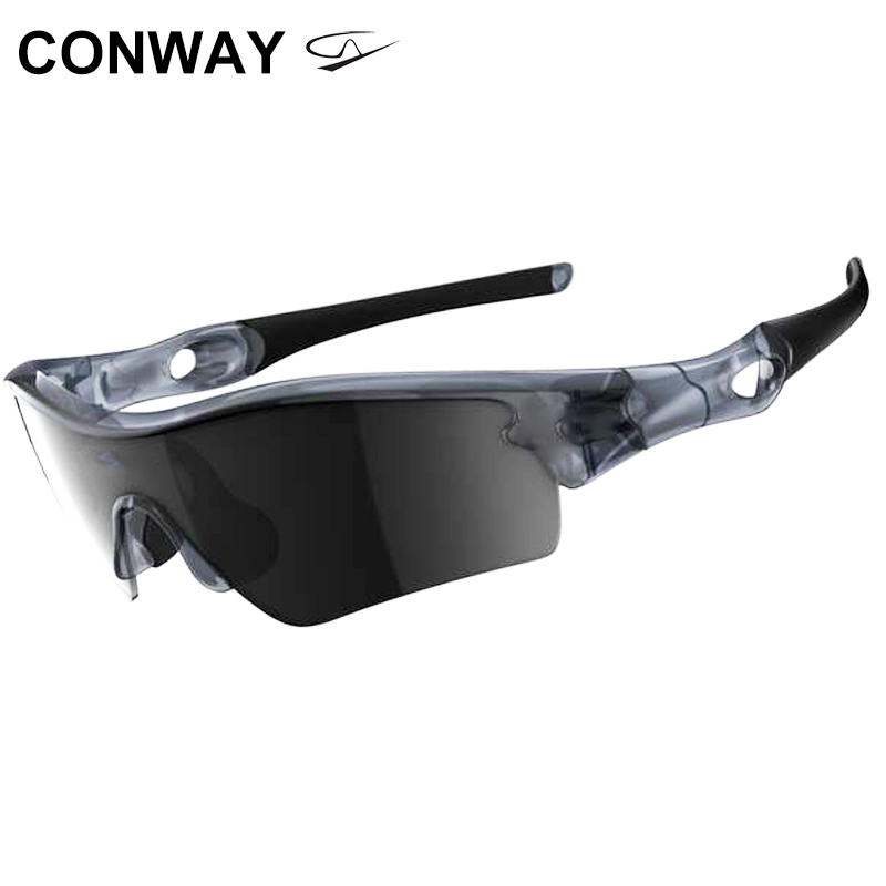 Conway Sport Shooting Glasses Polarized For Men Mirrored One-Piece Lens Safety Glasses Outdoor Sports Eyewear Ciclismo Fishing